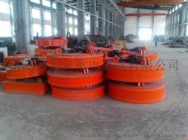 MW5系列高温型吊运废钢铁用起重电磁铁