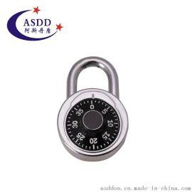 批发供应 圆形密码挂锁 转盘密码锁 五金挂锁 厂家批量销售