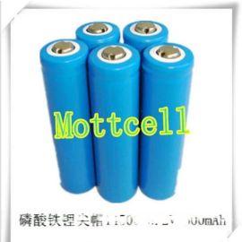 太阳能草坪灯充电电池 600mah磷酸铁锂电池14500 3.2V锂电池