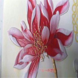 浙江3d背景墙制作设备 瓷砖雕刻上色机 玉雕背景墙打印机 贴瓷砖机