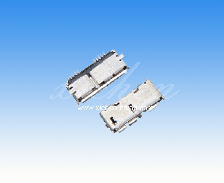 USB 3.0 A母DIP 180度