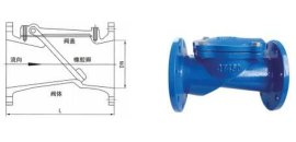 供应H44X精工橡胶瓣止回阀苏州精工止回阀上海精工阀门