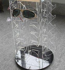 亚克力太阳镜展示架 有机玻璃制品制定 亚克力制品