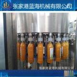 飲料灌裝機 全自動三合一液體灌裝機全套果汁設備 飲料生產線廠家