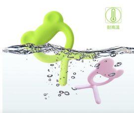 青蛙牙胶   磨牙棒   液态硅胶 玩具