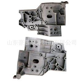 重汽系列配件 前悬左组合铸件 保险杠支架AZ9925516207 图片 价格