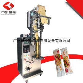 【厂家底价促销】袋装 面包专用酱包装机 免费试机立式自动包装机
