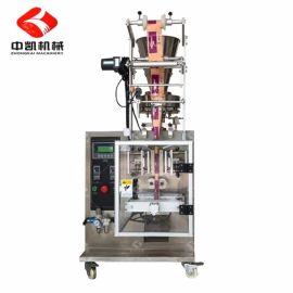厂家直销全国供应 给袋式青菜种子颗粒包装机|小型立式包装机