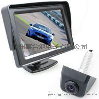 4.3寸带挡阳车载台式显示器+高清广角摄像头 倒车后视