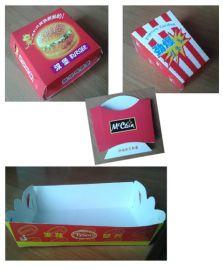 汉堡薯条盒 一次性食品盒 CH10019