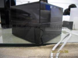 亚克力展示包装盒 有机玻璃黑茶色盒子 半透明产品盒