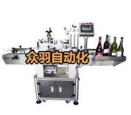 常州 杭州 立式全自动贴标机 不干胶双面贴标机 众羽自动化