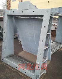 重庆拍门 钢制方拍门  浮箱式拍门