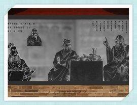 浮雕文化墙图 石头文化墙 石雕墙