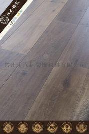 耐磨橡木同步对花仿实木复合地板