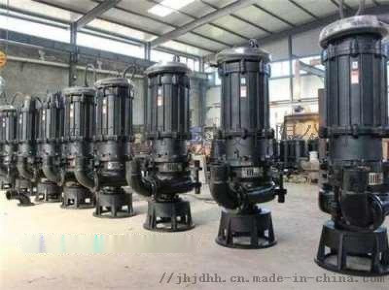 工程专用 喝泥泵山东江淮JHG潜水排污泵运转灵活