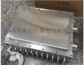 IIB铸铝防爆分线箱/不锈钢双层门防爆箱定做
