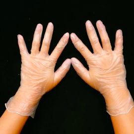 一次性医用pvc丁腈检查手套乳胶手套大中小号
