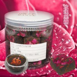 雲南玫瑰黑糖,玫瑰黑糖圖片,玫瑰黑糖的功效與作用