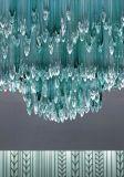 宴會廳大型水晶玻璃吊燈大堂烤彎藝術玻璃燈飾會所售樓部工程燈具 舉報