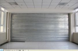 供應工廠倉庫鋼製防火捲簾門