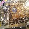 拉丝红古铜不锈钢屏风,镀色不锈钢屏风定做