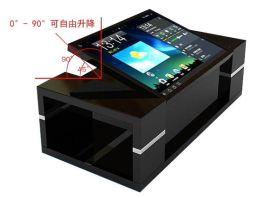 深圳熙雅盟厂家直销多点红外触摸屏智能触摸查询一体机茶几