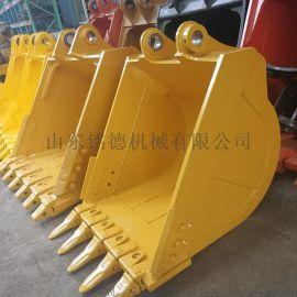 高强度耐磨钢材挖掘机岩石斗、装载挖斗