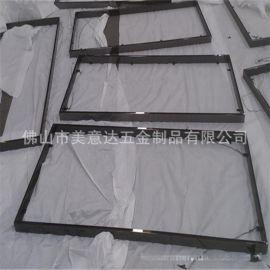 廠家專業定做畫廊不鏽鋼框 不鏽鋼鏡框  真空鍍色
