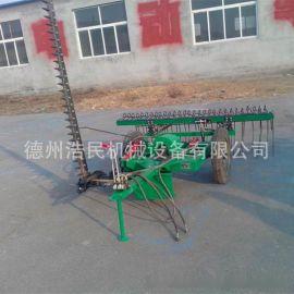 牧草割摟一體 摟草機 2.1米往復式割摟一體機械