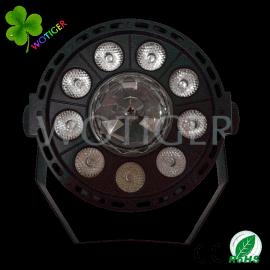 新品LED帕灯+魔球多功能组合灯9颗1WRGB帕灯3颗1WRGB魔球灯效果灯