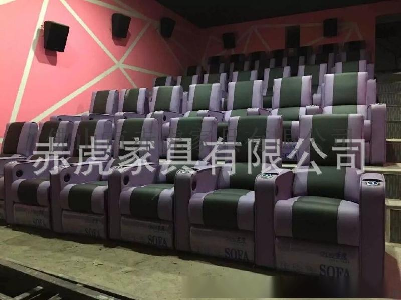 佛山赤虎傢俱專業生產VIP家庭影院沙發 電動USB介面多功能沙發  影院主題沙發座椅