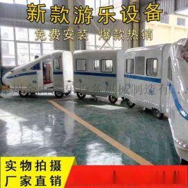 无轨小火车报价 广场电动小火车价格 游乐设备厂家 河南金山游乐