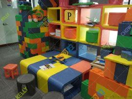 巧可粒EPP儿童家具EPP环保组合柜儿童书柜韩国进口新材料