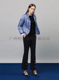 国内品牌羽绒服 品牌女装折扣店批发 品牌剪标