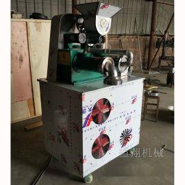 益翔 玉米面条机厂家 各种样子的钢丝面机操作视频