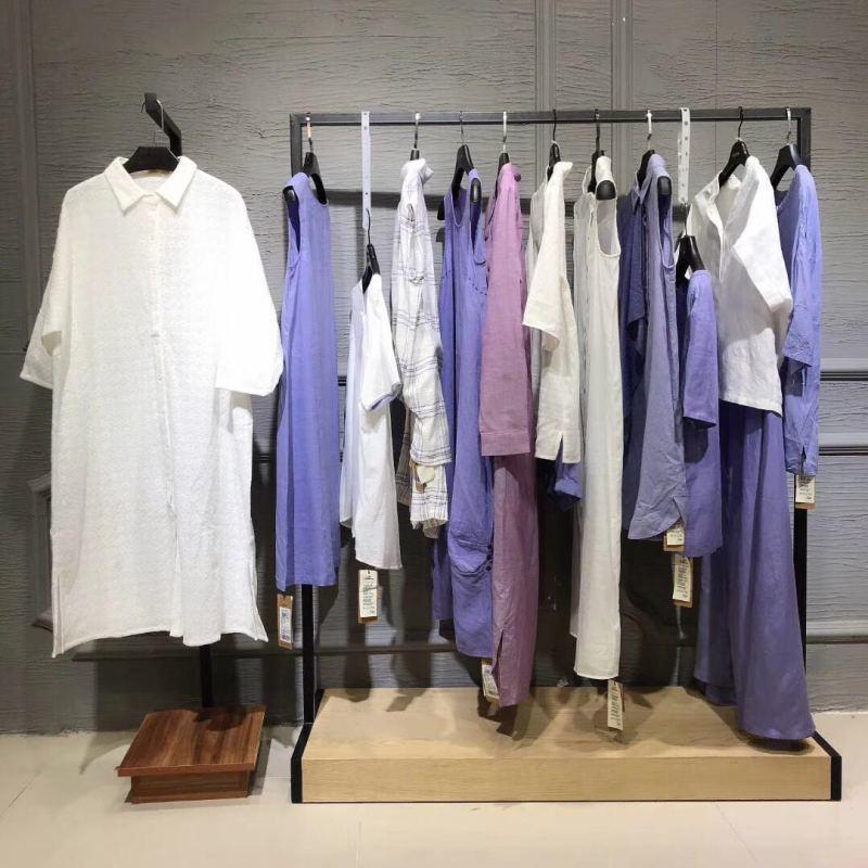 麦中林女装品牌折扣 高端棉麻风格女装库存尾货