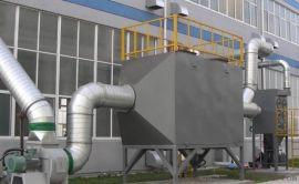 活性炭吸附脱附废气催化燃烧装置