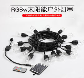 RGB太阳能灯串,灯串,LED灯串