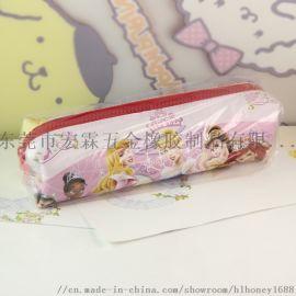 硅胶文具袋 卡通化妆包