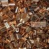 钢索压接铜套|钢丝绳  铆合用8字型铜套