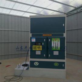 立式光氧催化一体机 汽车烤漆房废气处理设备