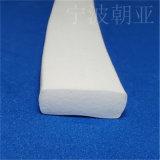 自粘型平板矩形防风阻海绵硅胶密封条