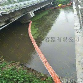 一体式拦垃圾拦水葫芦浮筒拦漂浮体