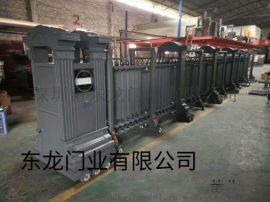 东龙门业自动伸缩门 工厂电动卷帘门 **水晶卷帘门