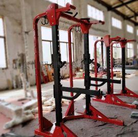 廠家直銷悍馬深蹲訓練器健身房商用