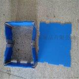 厂家定做珠海pp中空板 3mm蓝色箱包衬板