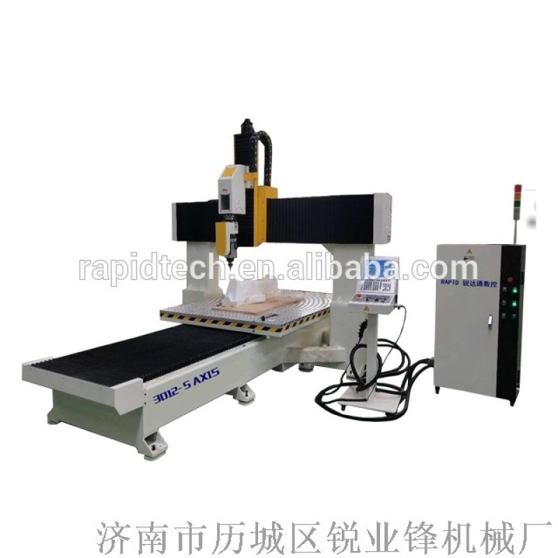 中国  cnc五轴加工中心雕刻机意大利五轴cnc