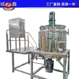 带搅拌的夹套反应釜电加热反应锅316L不锈钢反应罐