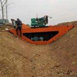 渠道衬砌机 一次性浇筑设备 渠道成型机厂家